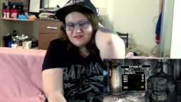 Playing Batman while being fucked BBW Tanya Mellow