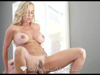 PureMature - Perfect 10 Milf Brandi Love fucked from behind