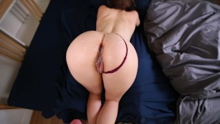 Sleeping Teen Stepsister Wakes Up to a Hard Cock
