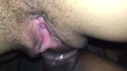 White wet pussy