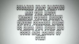 drunk college girls get crazy on cock!