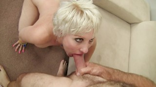 Dalny Marga is a sexy GILF and wants to get her pussy drilled by huge cock