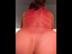 POV cowgirl, reverse cowgirl and big ass milking cock...