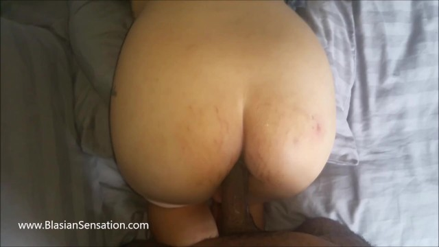 Pregnant Asian Wife gets an Anal (中出)creampie