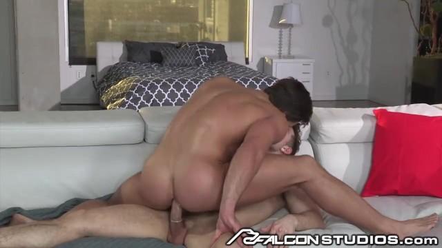 Sauna gay san sebastian Falconstudios hot brunette takes a huge cock