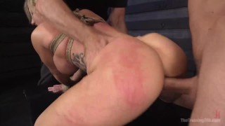 Carter cali deep training throat big butt