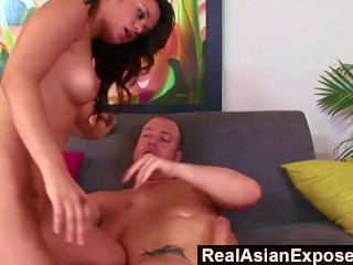 RealAsianExposed – Fucking My Asian Step-Sister