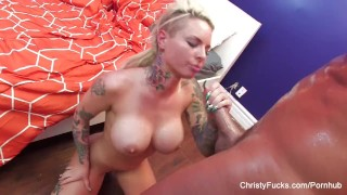 Busty Christy Mack gets fucked by Nick Manning