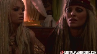 Digital Playground- Jesse Jane And Janine In Final Scene Of Pirates 1 Cowgirl ass