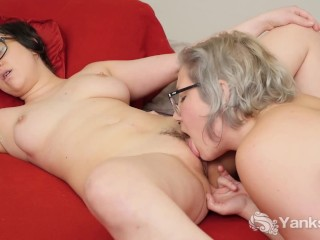 Lesbians Clementine And Vi Fingering Her Twats