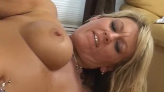 Mature Blonde Hooks Up With Stepson! porno