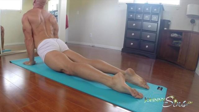Is johnny galecki gay - Sinslife - big dick stud gets hard during yoga