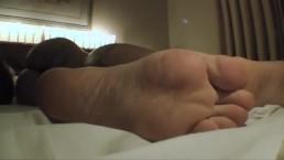 Britney, Mila Spook and Fabi Sleeping Feet