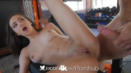 Exotic4K - Lily Jordan's working hard for her mans cock