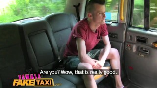 Preview 1 of FemaleFakeTaxi Student gets ultimate fantasy fuck