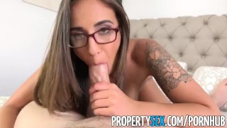 PropertySex - Captain of big boat bangs real estate agent at condo showing Curvaceous doggy