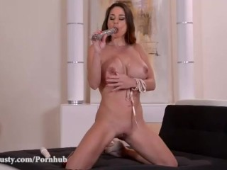 DDF Busty-Busty Bombshell Milf enjoys Incredibly Explosive Orgasm