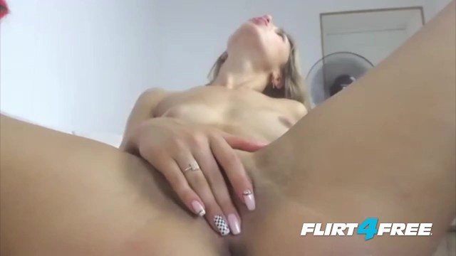 Breathtaking Blonde Mila Pippin Gets Creative With Her Webcam 47