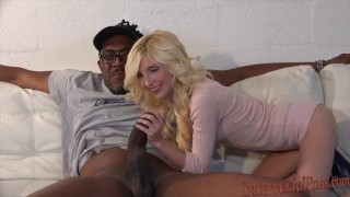 Cock takes chick biggest black smallest inch girll cock