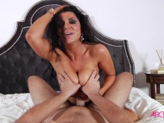 Busty Romi Rain pounded hard by big cock of Manuel in Ultimate Bruenttes