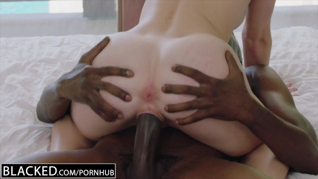 BLACKED.com Blonde Gets First BBC from Brothers Friend 5