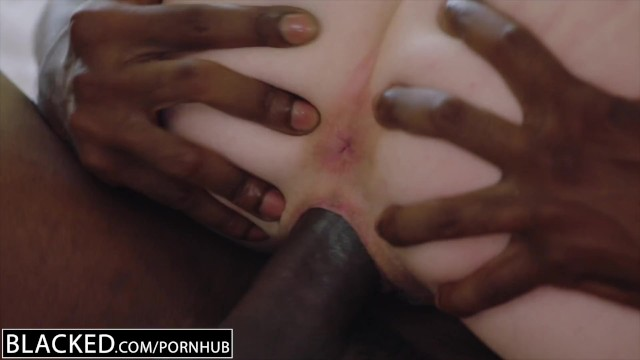 BLACKED.com Blonde Gets First BBC from Brothers Friend 24
