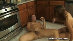 800DAD Amber Rayne is needing her pipes fixed with a little extra work done