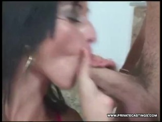 Simmone Style Casting's was a Bukkake Gangbang