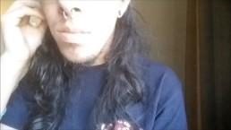 Selfie-Stick Masterbation (Interruptted by phone calls)