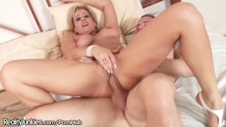 Slutty Cougar Wants it in Her ASS