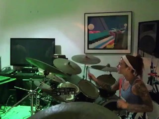 Felicity Feline Drums and Jams with Friends Behind the scenes