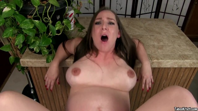 Pretending to ride Daddy's fat cock