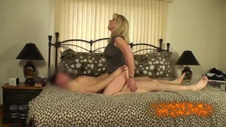 Mature Blonde Fucks Her Young Pornhub Subscriber