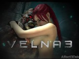 Amusteven's Velna 3 Trailer - Release 9/24/16 - Monster Fucks Hot Red Head
