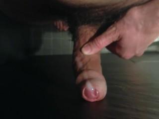Cumming in the shower