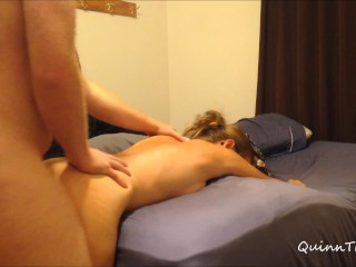 He bent me over. slapped my ass, and plowed me from behind