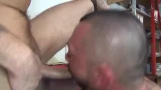 Break work hot raw big cocks