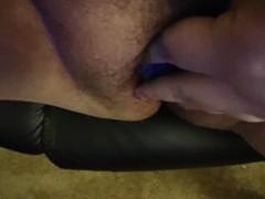 Lacy panties stuffed in tight BBW panties