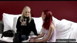 Casting private lesbian in a redheaded ariel czech interview