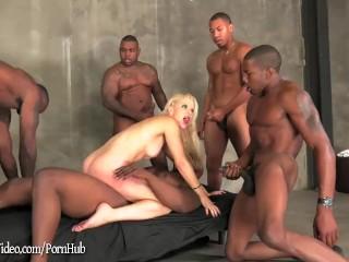 Blonde ashley fires...