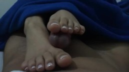 Goddess MJ - Just a footjob