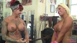 Megan Avalon and Duchess Dani