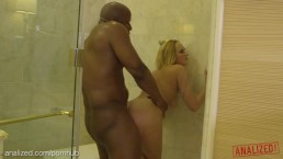 ANALIZED - Kate England gets ass punished by big black cock