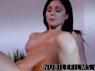 NubileFilms – Ariana Marie Milks Cum From Hard Cock