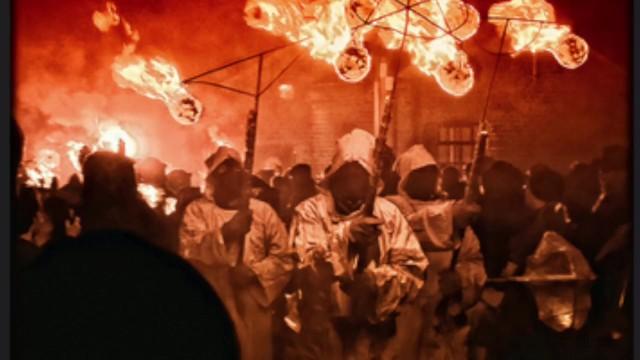 Pagan ritual naked woman sex group - Samhain - ritual of lust