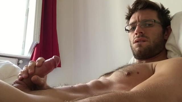 Marc naked - A quick cumshot