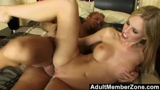 AdultMemberZone - She fucks for a job and loves the boss's huge cock Dildo amateur