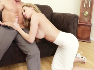 Irresistible Russian Blonde Subil Seduces Her Boss