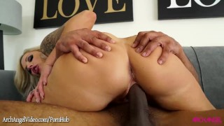 Big black elle a goes nina cock and ride sucks for booty girl