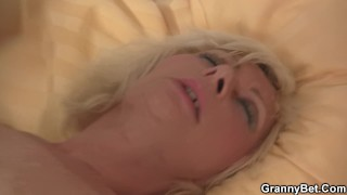 Horny Blonde Chick Has Her Pussy Drilled